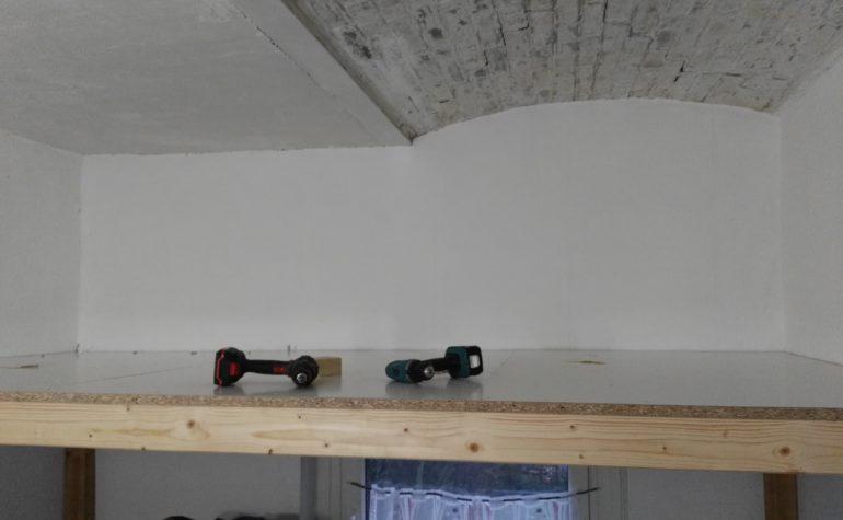 Hochbettprojekt in unserem kleinsten Zimmer
